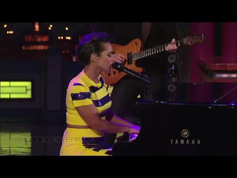 アリシア・キーズ: イフ・アイ・エイント・ガット・ユー (Live on Letterman)