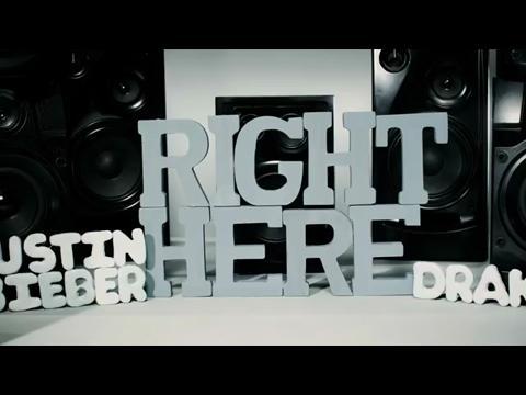 ジャスティン・ビーバー: ライト・ヒア feat. ドレイク