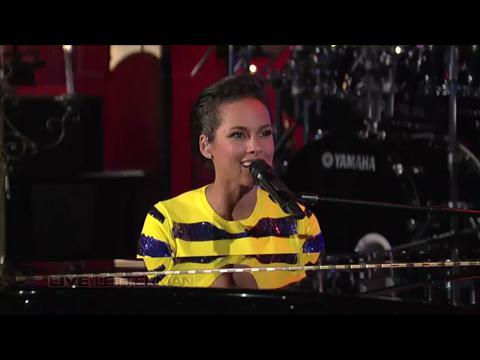 アリシア・キーズ: ニュー・デイ (Live on Letterman)