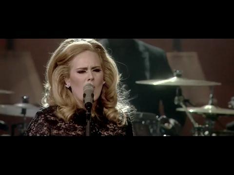 アデル: セット・ファイア・トゥ・ザ・レイン (Live at The Royal Albert Hall)