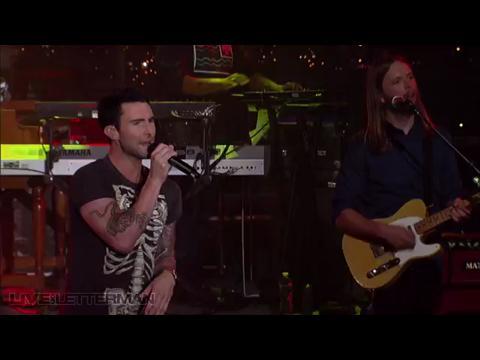 マルーン5: ミザリー (Live on Letterman)