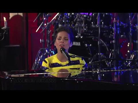 アリシア・キーズ: ノット・イーヴン・ザ・キング (Live on Letterman)