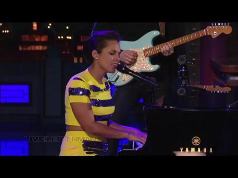アリシア・キーズ: リッスン・トゥ・ユア・ハート (Live on Letterman)