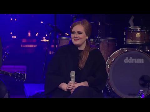 アデル: ターニング・テーブルズ (Live on Letterman)