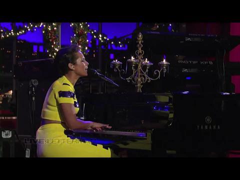アリシア・キーズ: ブラン・ニュー・ミー (Live on Letterman)