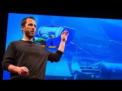 デイビッド・ラング: 私の水中探査ロボット