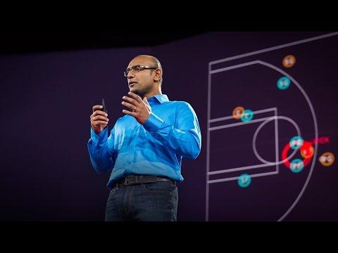 ラジブ・マヒシュワラン: バスケットボールの激しい動きの背後にある数学