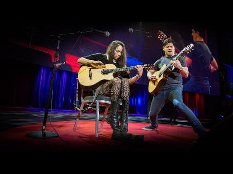 ロドリーゴ・イ・ガブリエーラ: しびれるようなアコースティック・ギターの演奏
