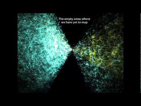 カーター・エマート: 三次元宇宙地図のデモ