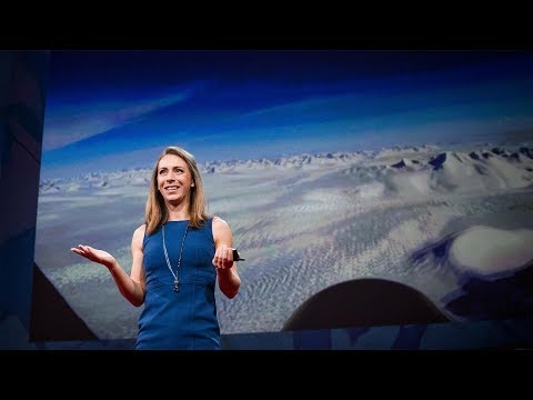 クリスティン・ポイナー: グリーンランドの氷床の下に何が隠されているのか?