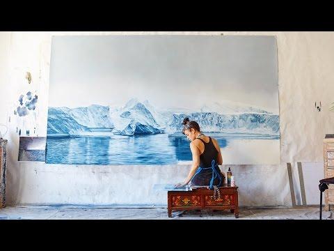 ザリア・フォーマン: 儚くも美しき地球の絵画