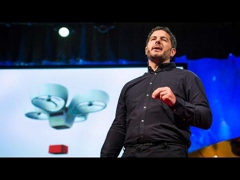 アンドレアス・ラプトポウラス: 道路がないなら無人飛行体がある