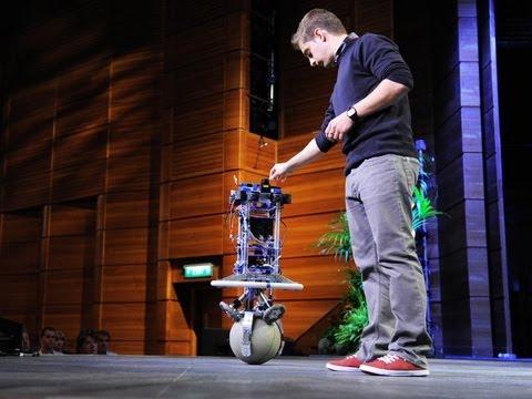 ペーター・ファンクハウザー: 踊るボールボットRezero