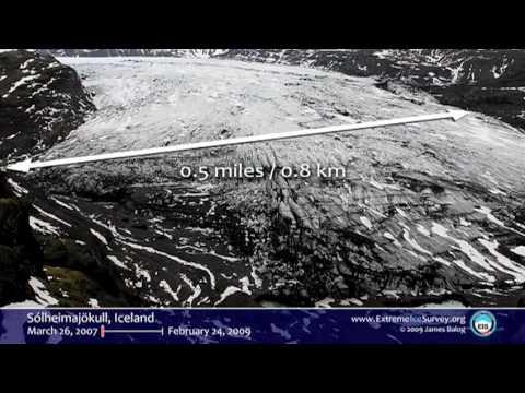 ジェームズ・バログ: コマ落とし撮影カメラが捉えた極地氷の喪失の証拠