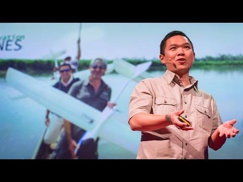 リアン・ピン・コウ: 無人飛行機から見た環境保全