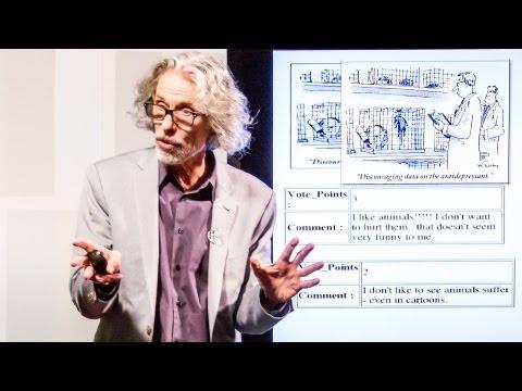 ボブ・マンコフ: 「ニューヨーカー」のマンガの分析