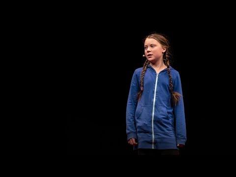 グレタ・サンバーグ: 気候のための行動への心開かれる訴え | TED Talk