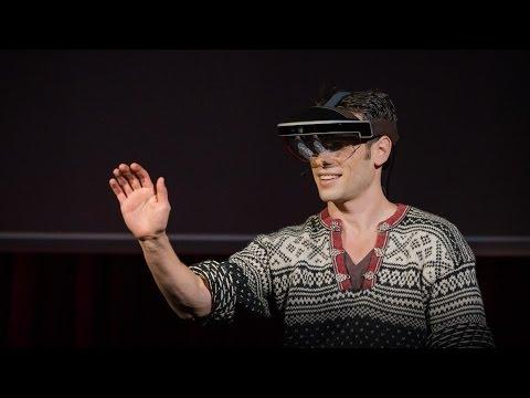 メロン・グリベッツ: 拡張現実ヘッドセットを通して未来を覗く