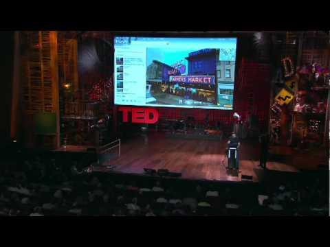 ブレイス・アグエラ・ヤルカス: 新世代地図の実演