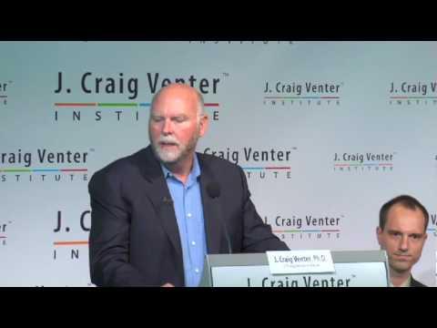 クレイグ・ベンター:「人工生命」について発表する