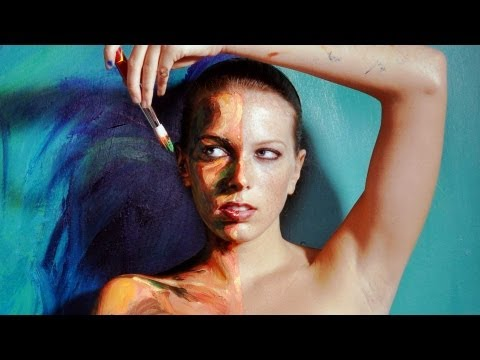 アレクサ・ミード: あなたの体は私のキャンバス