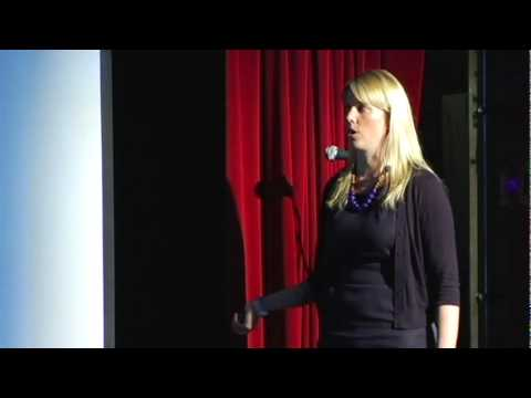 エレン・グスタファソン: 肥満+飢餓=1つの共通の食問題