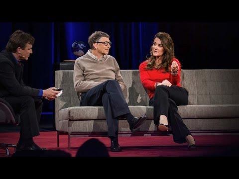 ビル・ゲイツ、メリンダ・ゲイツ: 富を贈ることが最高の喜び