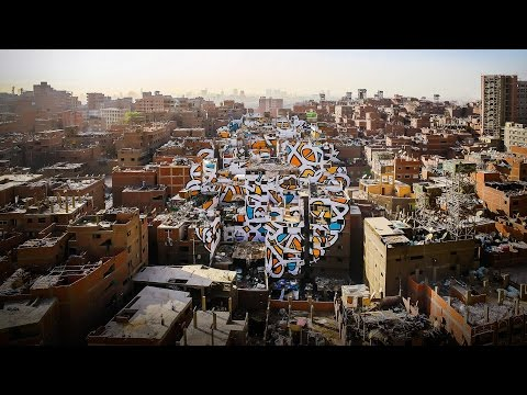 エル・シード: 50軒の建物に描いた平和のプロジェクト