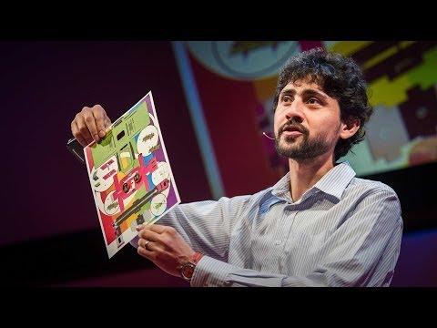 マヌ・プラカシュ: 紙を折るだけ―50セントでできる「折り紙顕微鏡」