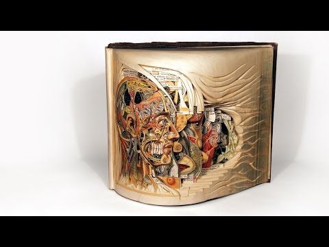 ブライアン・デットマー: 古びた本が繊細なアートに生まれ変わる時