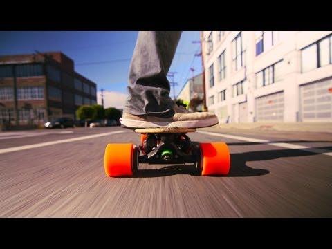 サンジェイ・ダストゥア: 原付スケートボード