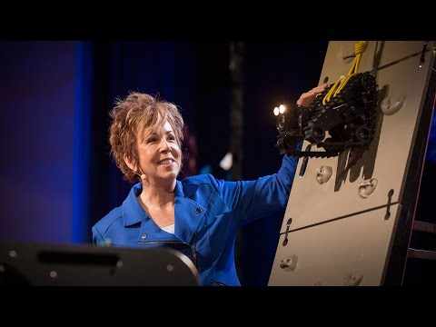 ロビン・マーフィー: 災害の救援に駆けつけるロボット