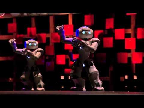 ブルーノ・メゾニエ: 踊るミニロボット!