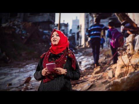 アミーラ・ハロウダ: 何故私が危険に身を置き、ガザを語るのか