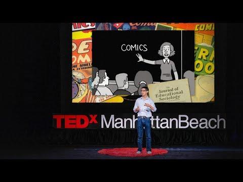 ジーン・ヤン: 漫画は教室にふさわしい | TED Talk